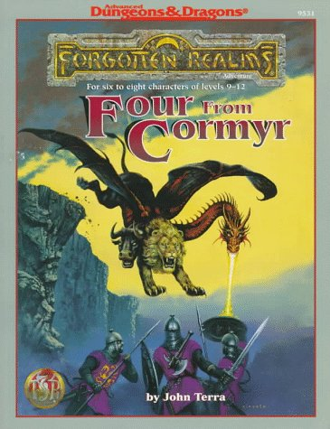 9780786906468: Four from Cormyr: 4 Forgotten Realms Adventures for Characters of Levels 9-12