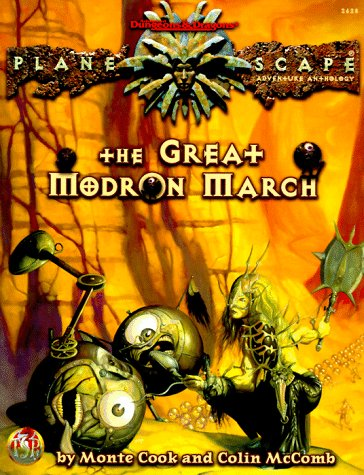 9780786906482: The Great Modron March (Adventure Anthology)
