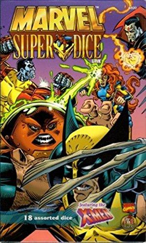 9780786906734: Marvel Super Dice Game: The X-Men Battle for New York City!