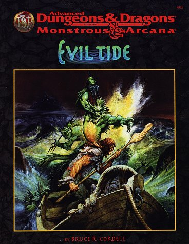 9780786906789: Evil Tide (Advanced Dungeons & Dragons/Monstrous Arcana Accessory)