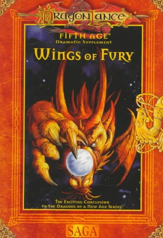 WINGS OF FURY (Dragonlance Fifth Age Dramatic Adventure Game) (0786907223) by Douglas Niles