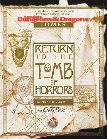 9780786907328: Return to the Tomb of Horrors (Advanced Dungeons & Dragons: Tomes)