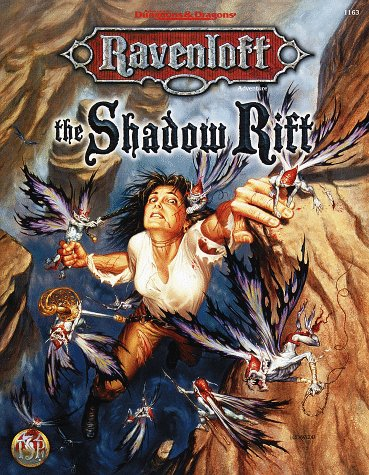 9780786907373: The Shadow Rift (AD&D Horror Roleplaying, Ravenloft)