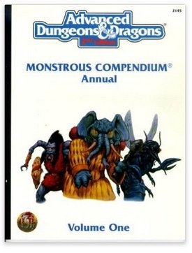 9780786908387: AD&D Monster Compendium Annual: Vol 1