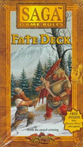 9780786911455: SAGA FATE CARDS (Saga Fate Deck)