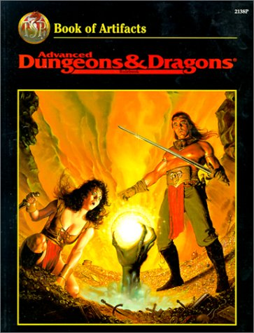 9780786911509: Advanced Dungeons & Dragons Rulebook: Book of Artifacts