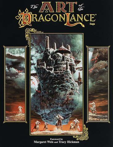 9780786911813: The Art of the Dragonlance Saga (Dragonlance: Sourcebooks on Krynn)