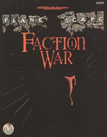 9780786912032: Faction War (AD&D/Planescape Adventure)