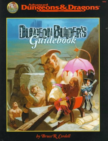 9780786912070: Dungeon Builder's Guidebook (AD&D Accessory)