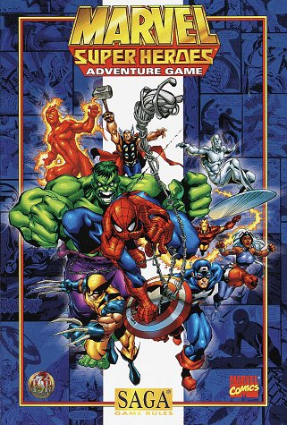 Marvel Super Heroes Adventure Game (SAGA System) (0786912278) by Olmesdahl, Bill; Carter, Michele; Selinker, Mike; Schend, Steven E.; Brown, Steven