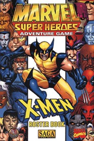 X-Men Roster Book (Marvel Super Heroes RPG): Steve Miller