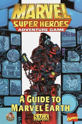 9780786912308: A Guide to Marvel Earth (Marvel Super Heroes Adventure Game)