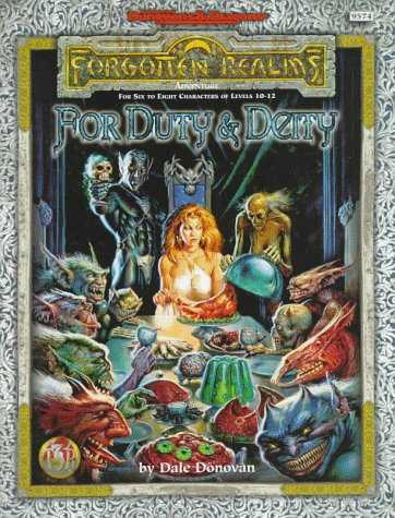 9780786912346: Forgotten Realms: for Duty and Deity (Accessory)