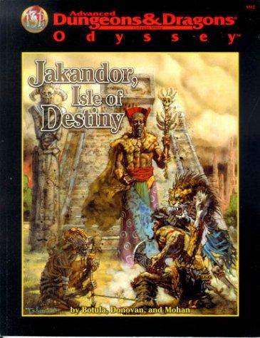 9780786912452: JAKANDOR: ISLE OF DESTINY (Adventure Supplement)