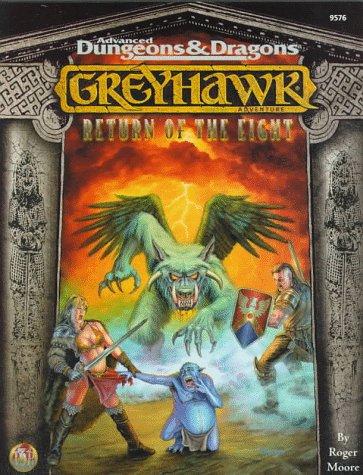 9780786912476: Return of the Eight (AD&D Fantasy Rolepaying, Greyhawk Setting)