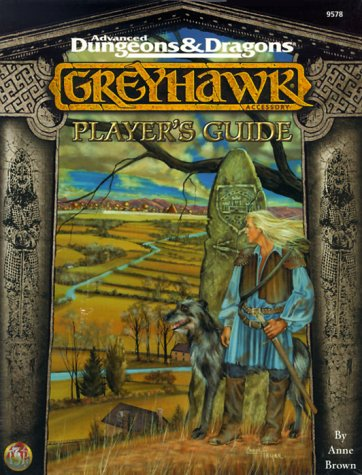Player's Guide to Greyhawk (Advanced Dungeons & Dragons/AD&D): Anne Browne