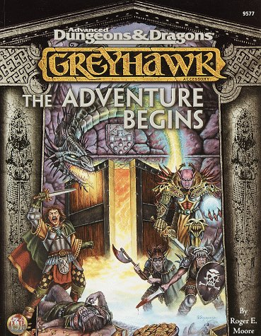 9780786912490: Greyhawk: The Adventure Begins: Advanced Dungeons & Dragons