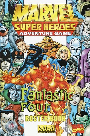 9780786913206: The Fantastic Four Roster Book (Marvel Super Heroes)