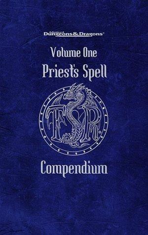 9780786913596: Priest's Spell Compendium, Volume 1 (Advanced Dungeons & Dragons)