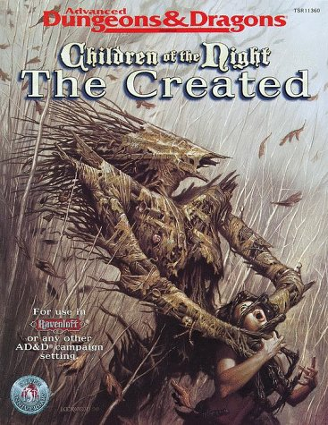 Children of the Night: The Created: Andria Hayday