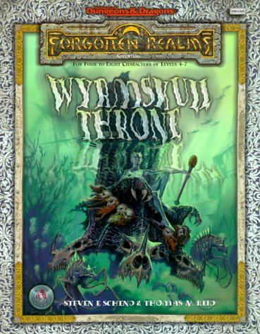 9780786914050: WYRMSKULL THRONE, THE (Advanced Dungeons & Dragons : Forgotten Realms Adventure)