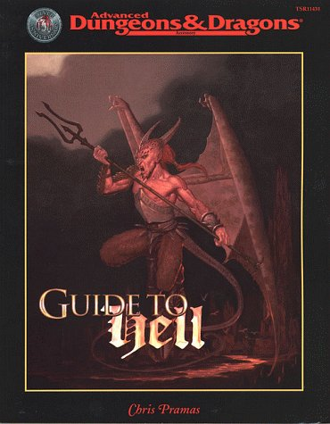 9780786914319: Guide to Hell (Advanced Dungeons & Dragons, 2nd Edition, Accessory/11431)