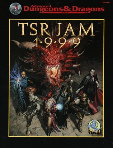 9780786914456: TSR Jam 1999 (Advanced Dungeons & Dragons)
