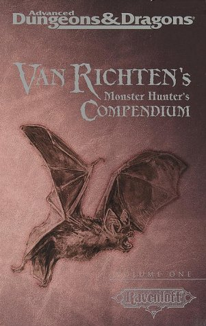 9780786914470: Van Ricten's Monster Hunters Compendium: 1 (Advanced Dungeons & Dragons , Vol 1)