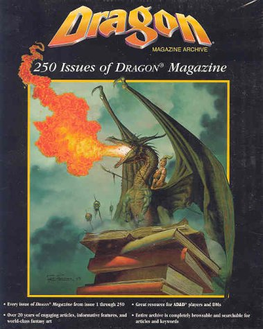 9780786914487: Dragon Magazine Archive : 250 Issues of Dragon Magazines and Dms Electronic Media Utility (Dragon)
