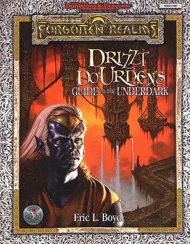 Drizzt Do'Urden's Guide to the Underdark (AD&D/Forgotten Realms): TSR Inc