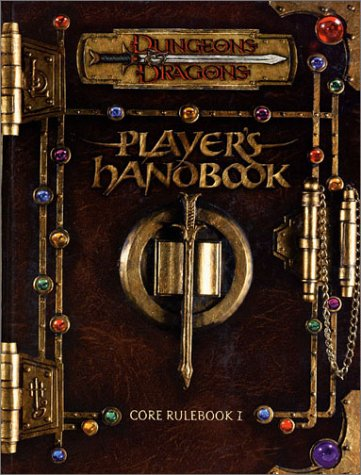 Dungeons & Dragons Player's Handbook: Core Rulebook I, Core Rulebook II, and Core Rulebook...