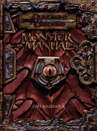 Monster Manual : Core Rulebook III (Dungeons: Cook, Monte; Tweet,