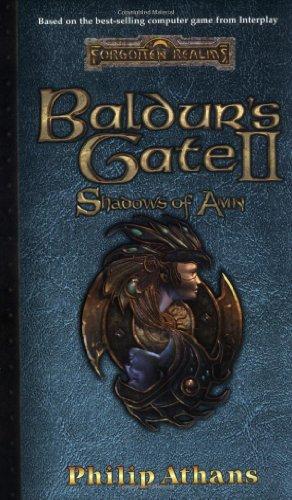 9780786915699: Baldur's Gate II: Shadows of Amn (Forgotten Realms: Computer Tie-In Novels)