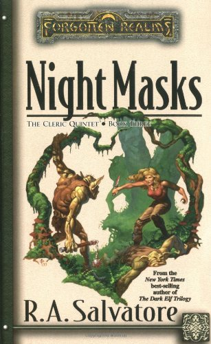 Night Masks (Forgotten Realms: The Cleric Quintet, Book 3)