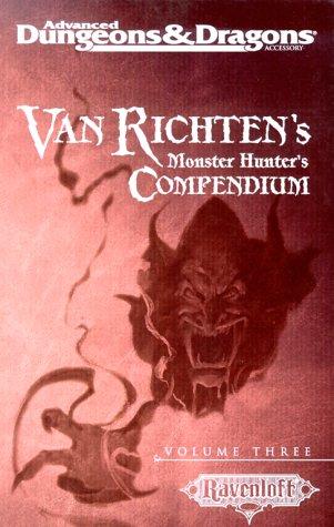 9780786916139: Van Richten's Monster Hunter's Compendium: 3