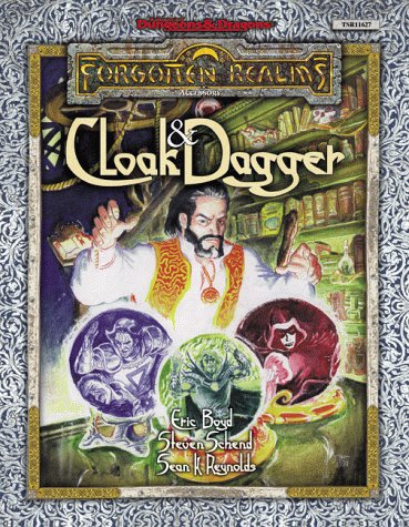 9780786916276: Forgotten Realms: Cloak and Dagger