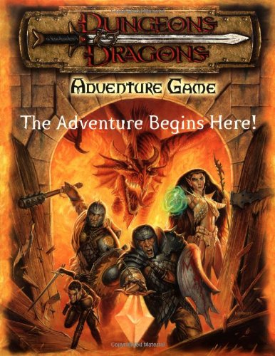 9780786916412: Dungeons & Dragons Adventure Game: The Adventure Begins Here!
