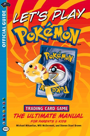 Let's Play Pokemon! (Official Pokemon Guides) 9780786917631 An expanded official guide to the trading card game sensation. This full-color guide includes detailed descriptions of decks kids can build, a comprehensive card encyclopedia of all English cards from the original base set through the Team Rocket expansion, an evolution chart, and tips for advanced play. The book also contains a special section for parents about learning from the Pokmon game, responsible trading and collecting, and the Pokmon TCG League.