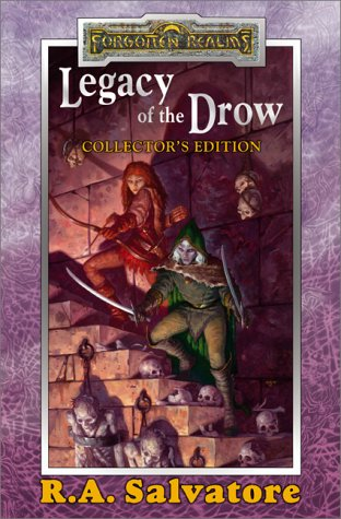 9780786918003: LEGACY OF THE DROW: The Legacy; Starless Night; Siege of Darkness; Passage to Dawn (Forgotten Realms)