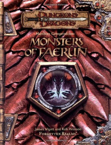 9780786918324: Monster Compendium: Monsters of Faerun