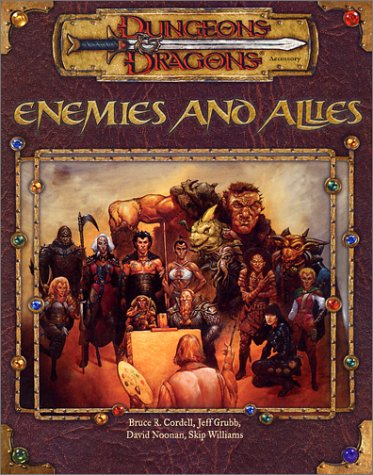 9780786918522: Enemies and Allies (Dungeons & Dragons)