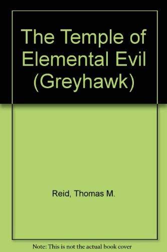9780786926169: The Temple of Elemental Evil (Greyhawk)