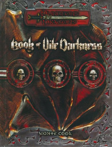 9780786926503: Book of Vile Darkness (Dungeons & Dragons d20 3.0 Fantasy Roleplaying Supplement)
