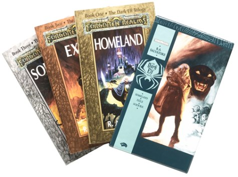 9780786926831: Dark Elf Trilogy Box Set: Homeland / Exile / Sojourn: Three Volume Set (Forgotten Realms: the Dark Elf Trilogy)
