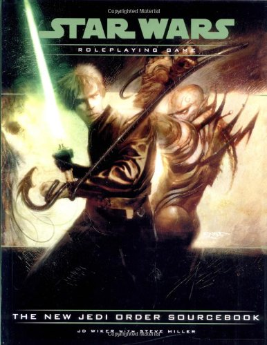 The New Jedi Order Sourcebook (Star Wars Roleplaying Game) (0786927771) by J.D. Wiker; Steve Miller
