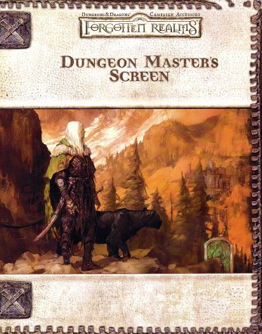 9780786927838: Dungeon Master's Screen (Dungeons & Dragons: Forgotten Realms, Campaign Accessory)