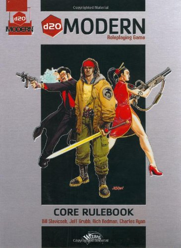 9780786928361: d20 Modern Roleplaying Game: Core Rulebook
