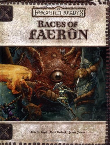 9780786928750: Races of Faerun (Dungeons & Dragons d20 3.0 Fantasy Roleplaying, Forgotten Realms Setting)