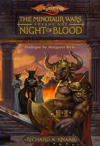 "Night Of Blood "" Signed "": Knaak, Richard A."