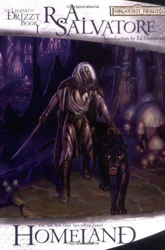 9780786931231: Homeland (1) (Forgotten Realms: the Dark Elf Trilogy)
